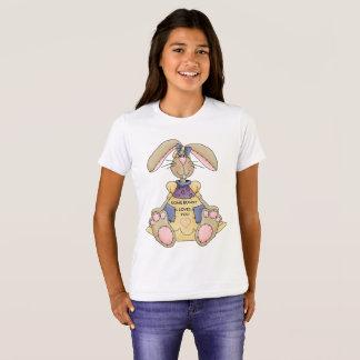 Ostern-Mädchen-Häschent-shirt T-Shirt