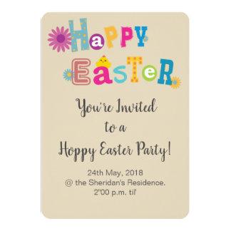 Ostern-Party Einladung