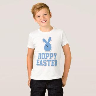 Ostern-Shirts für Jungen-Blau-Häschen T-Shirt