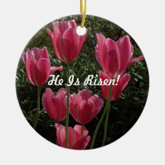 Ostern-Verzierung Rundes Keramik Ornament
