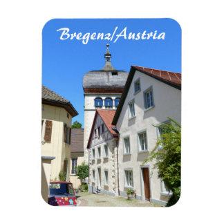 Österreich, Bregenz alte Stadtandenken Magnet