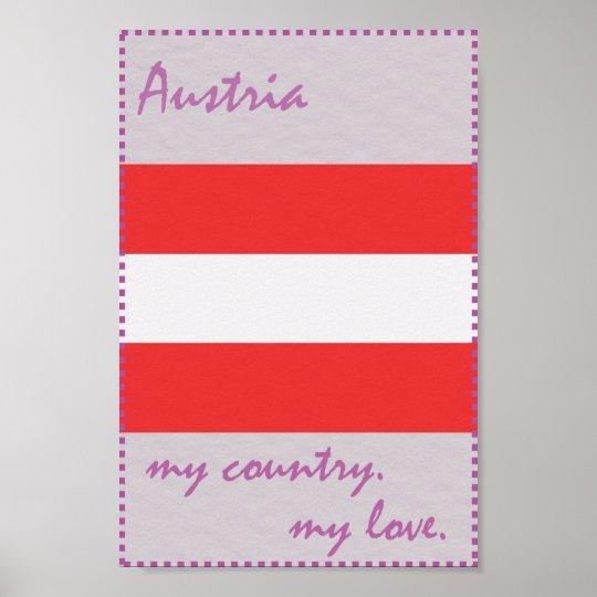 Österreich mein Land meine Liebe Poster