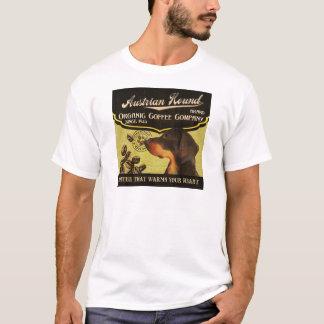 Österreichische Jagdhund-Marke - Organic Coffee T-Shirt