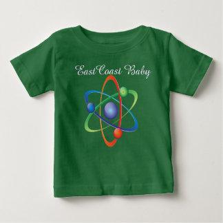 Ostküsten-Babyatom-Wissenschafts-Shirt Baby T-shirt