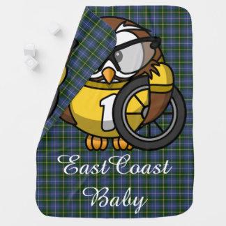 Ostküsten-Babyeulenfahrrad NeuschottlandTartan Kinderwagendecke