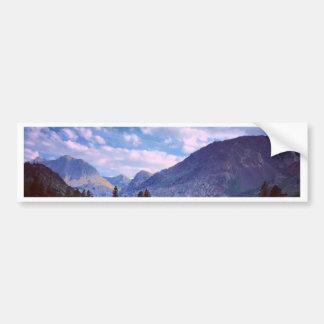 Östlich Yosemite Autoaufkleber