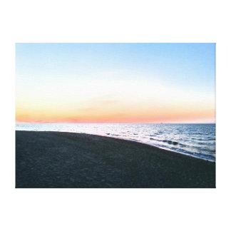 Ostsee-Strand Leinwanddruck