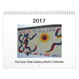 Ostseiten-Galerie-Berlin-Kalender Kalender