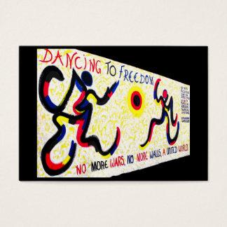 Ostseiten-Galerie, Berliner Mauer, tanzende Visitenkarte