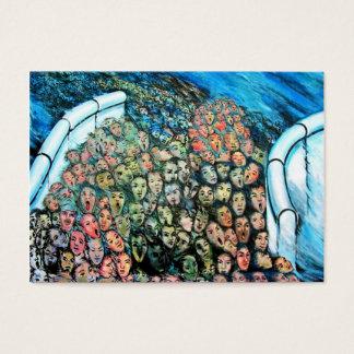 Ostseiten-Galerie, Berliner Mauer, Visitenkarte