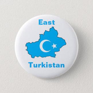 OstTurkistan Runder Button 5,1 Cm