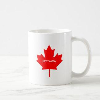 Ottawa-Ahornblatt Kaffeetasse