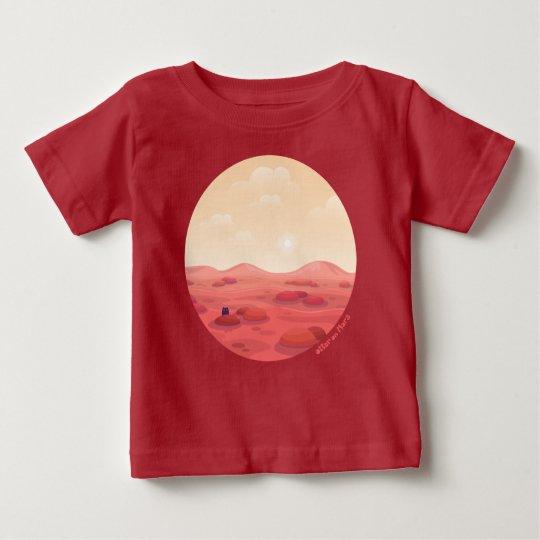 """Otter auf Mars-""""Leben auf Mars"""" Baby-T - Shirt im"""