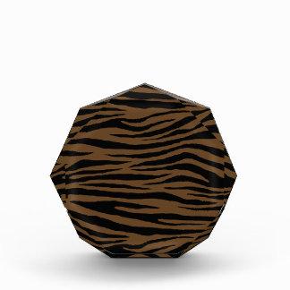 Otter-Brown-Tiger Acryl Auszeichnung