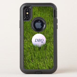 Otterbox Verteidiger-Reihen-Golfball im rauen OtterBox Defender iPhone X Hülle