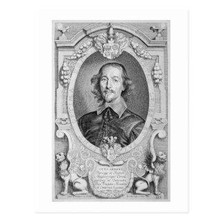 Otto von Guericke (1602-86) von 'Porträt-DES Ho Postkarte