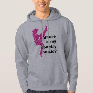 Où est ma musique country ? sweats à capuche