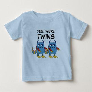 Oui ! Nous sommes des jumeaux T-shirt Pour Bébé