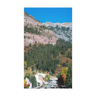 Ouray, Colorado im Herbst Leinwanddruck