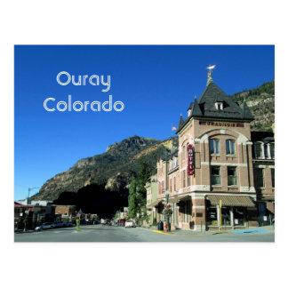 Ouray, Colorado-Postkarte Postkarte