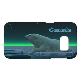 Ours blanc de bord de glace - Canada Coque Samsung Galaxy S7