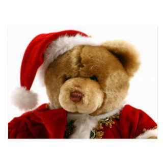 ours de Noël Carte Postale