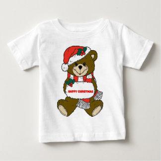 Ours de Noël heureux Tee-shirts