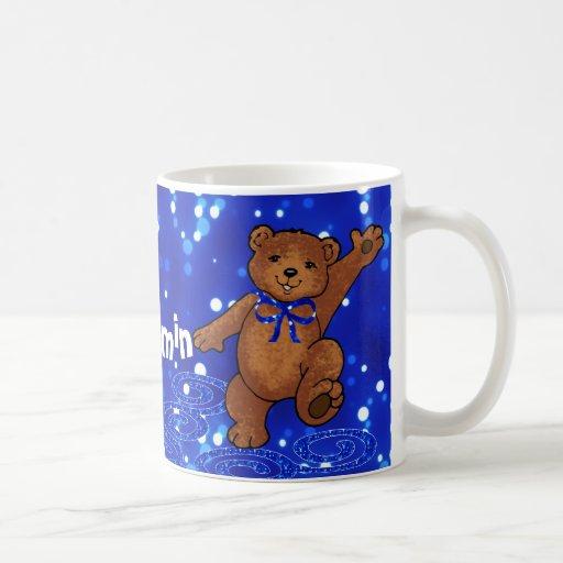 Ours de nounours de danse tasse à café