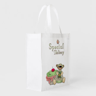 Ours de petit gâteau de la livraison spéciale sacs d'épicerie