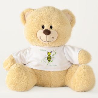 Ours En Peluche Aussi occupé comme abeille