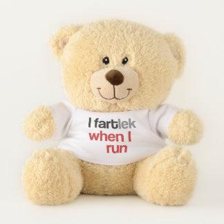 Ours En Peluche I FARTlek quand je cours le © - FARTlek drôle