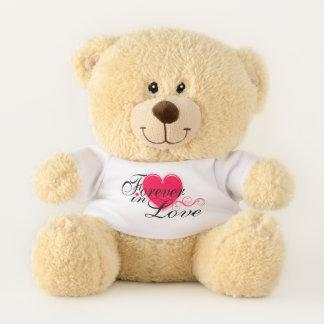 Ours En Peluche Pour toujours au coeur d'amour