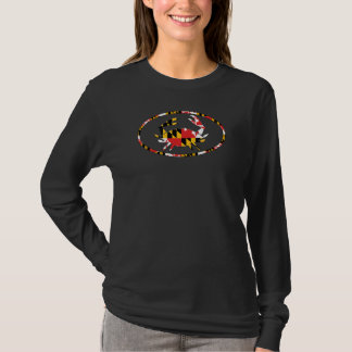 OVAL MD CRAB-FLAG T-Shirt