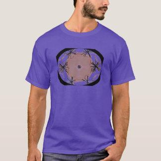 Ovale geometrische Graphiic Kunst T-Shirt