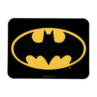 Ovales Logo Batman-Symbol-| Eckige Magnete