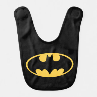 Ovales Logo Batman-Symbol-| Lätzchen