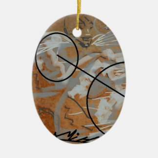 Ovales Ornament