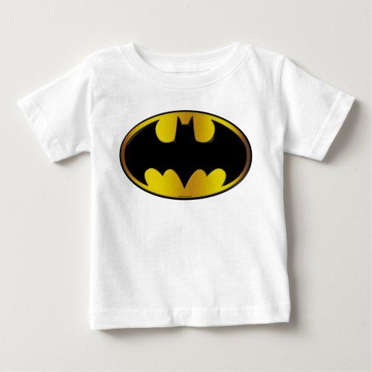 Ovales Steigungs-Logo Batman-Symbol-| Baby T-shirt