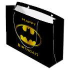 Ovales Steigungs-Logo Batman-Symbol-| Große Geschenktüte
