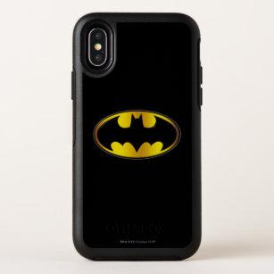 Ovales Steigungs-Logo Batman-Symbol-  OtterBox Symmetry iPhone X Hülle