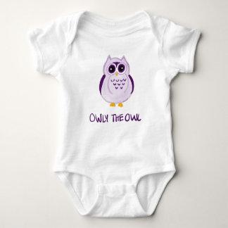 Owly die Eule - Baby-Bodysuit Baby Strampler