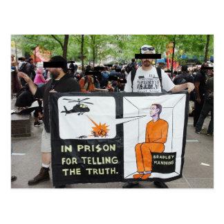 OWS Protest-Zeichen (Postkarte) Postkarten