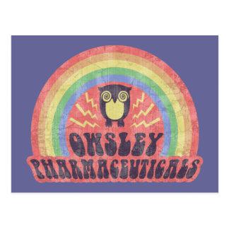 Owsley pharmazeutische Produkte Postkarte