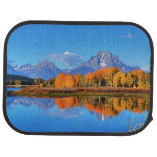 Oxbow Biegungs-Sonnenaufgang Autofußmatte