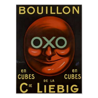 OXO annonce vintage de Buillion - cie Liebig Affiche