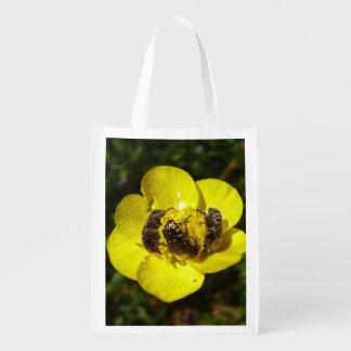 Oxythyrea Funesta Käfer-wiederverwendbare Tasche Wiederverwendbare Einkaufstasche