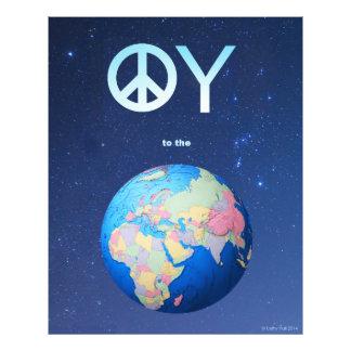 OY zum Weltplakat Photographischer Druck