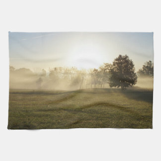 Ozarks-Morgen-Nebel Handtuch