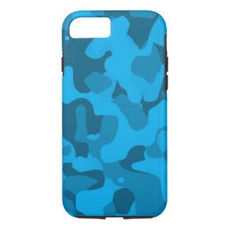 Ozean-Blau starker Camoflauge iPhone 7 Fall iPhone 8/7 Hülle