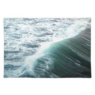 Ozean-Blau Stofftischset